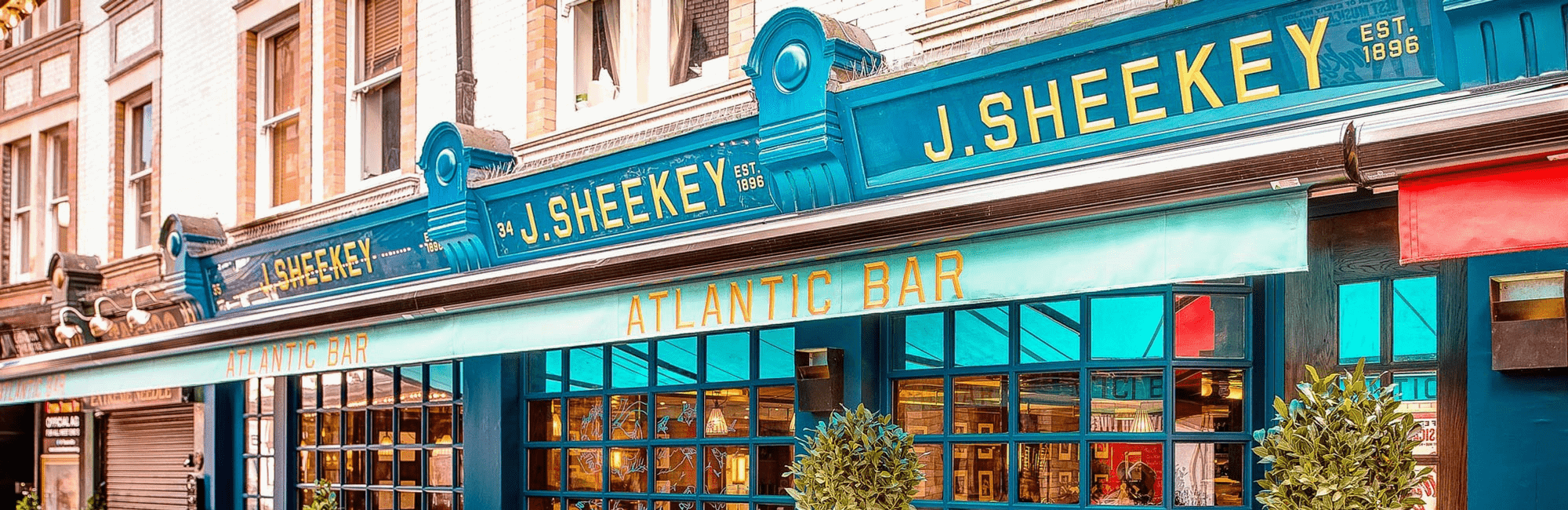 J Sheekey Atlantic Bar is a small plate fish and seafood restaurant located in the heart of London