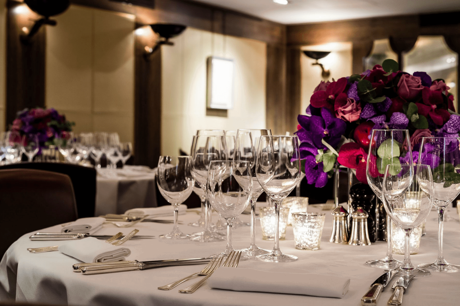 The Private Room at Scott's in Mayfair, Ideal for Group Dining or Corporate Dinners