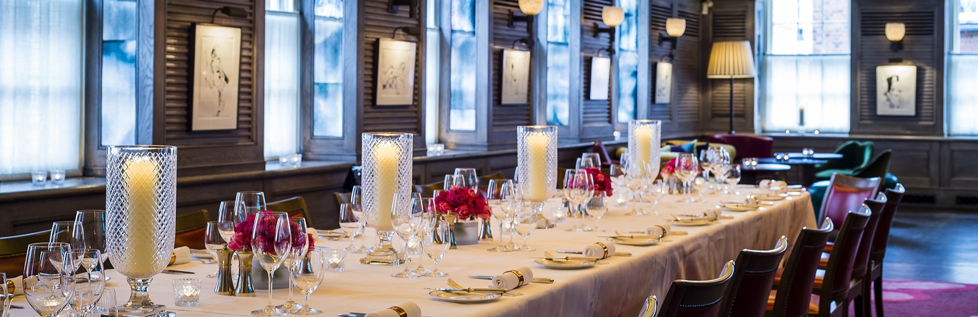 The emin room at 34 mayfair private dining rooms for Best private dining rooms mayfair