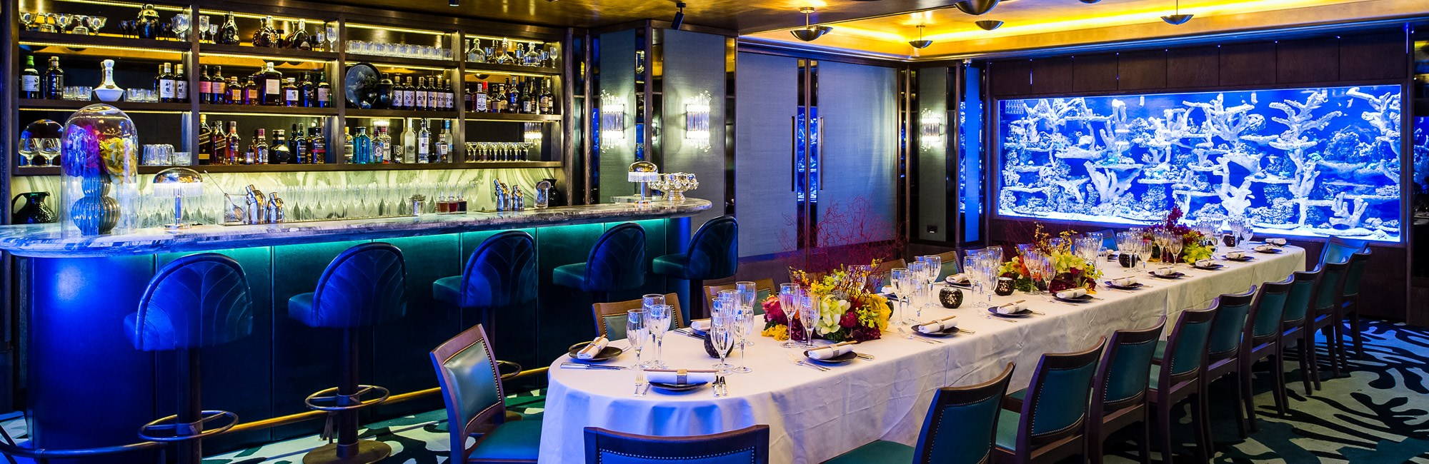 Event Venue and Private Hire in Mayfair, Sexy Fish, Private Dining Room