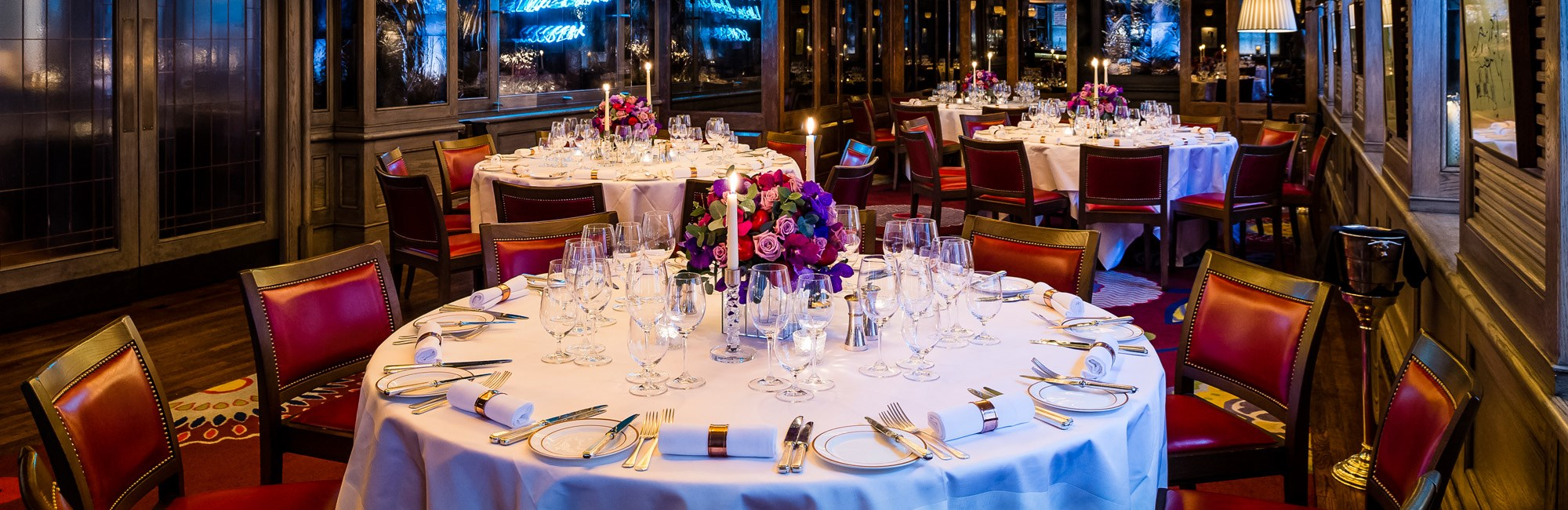 Large Group Dining and Private Hire in Mayfair at 34 Mayfair, The Private Dining Room