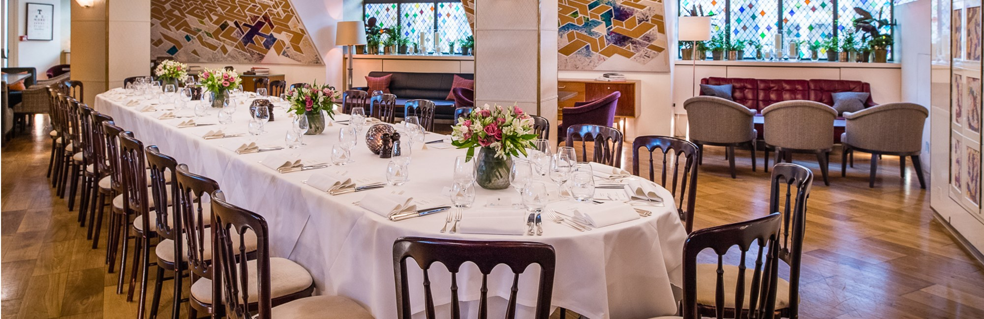 The loft at the club at the ivy private dining rooms for Best private dining rooms west end london