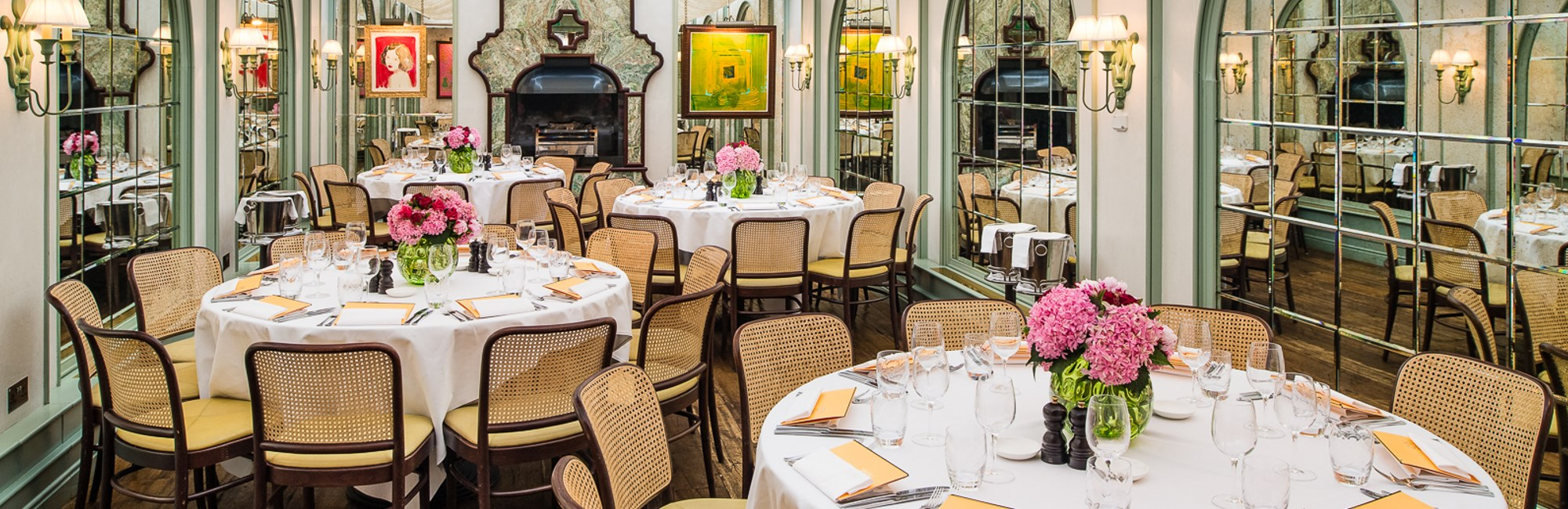 Restaurant Private Hire and Group Dining in Chelsea, Daphne's