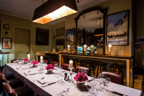 Private and Group Dining at The Mount Street Deli in Central London, Mayfair