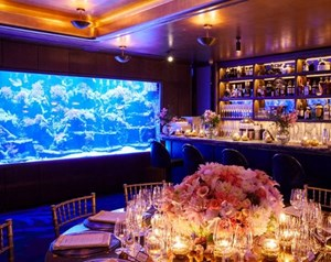 The private dining room at Sexy Fish in Mayfair is ideal for anniversary celebrations