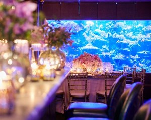 A private dining room with bar is available to hire at Sexy Fish in London